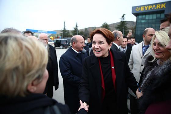 Meral Akşener Kırıkkale'de